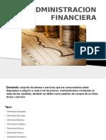 ADMINISTRACION FINANCIERA PROYECCION