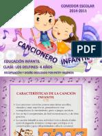 Cancionero Infantil. Para 4 Años