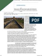 A Vueltas Con El Holocausto y Los Usos Interesados de La Historia - Internacional - EL PAÍS