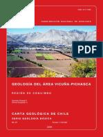 Geología Del Área Vicuña-Pichasca