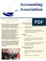accounting association newsletter final draft