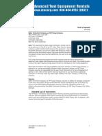 Baker EXP4000 Manual