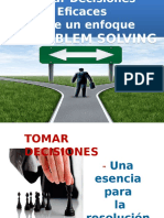 Decisiones Eficaces a Traves de Problem Solving