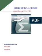 Math Editor de Ecuaciones