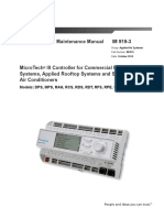 Daikin IM 919-3 LR MT-III Controller for AHU Manual
