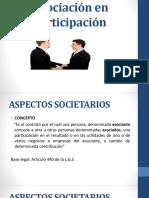 Consorciones y Asociaciones