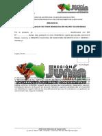 Declaraciones Juradas CAS 2015