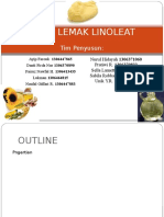 ASAM LEMAK LINOLEAT