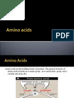 Amino Acids Properties