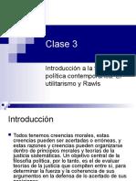 Clases 3 y 4. El Utilitarismo y Rawls (2)