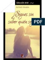 Sigues Sin Saber Quien Soy - Astrid Maria