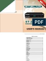 ST 25 Manual