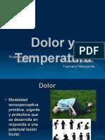 Dolor y Temperatura