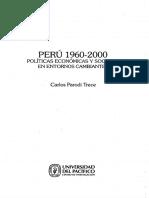 Carlos Parodi Trece 1960-2000 (Índice de Principales Hitos Económicos Perú)