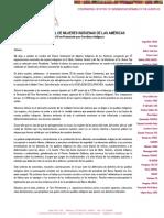Declaración del ECMIA - UNPFII