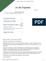 Carta de Envio de Originais - JurisWay - Modelos de Documentos