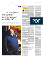 Entrevista a Hernando de Soto en el diario El Comercio
