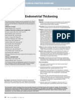 Asymptomatic endometrial thickness.pdf