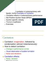 Aula 24 - Cavitation