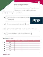 Ficha Decimales
