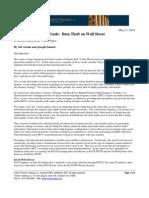 THEMIS -- Data Theft on Wall Street -- 05.11.10
