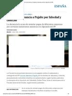 La Fiscalía Denuncia a Pujalte Por Falsedad y Cohecho _ España _ EL PAÍS
