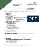 Luprintol Multifunction SL-S MSDS
