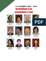 Tawau Toastmasters Club Executive Committee 2010-2011