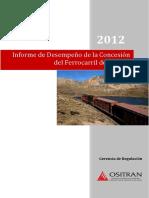 Informe Desempeño 2012 FVCA