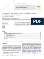 2012-A Short Overview of the Formation of Aerated Flocs and Their Applications in Solid-liquid Separation by Flotation