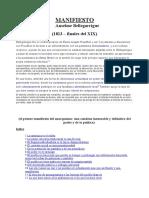 Bellegarrigue Anselme - Primer Manifiesto Anarquista.doc
