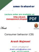 Consumer behavior 6th section