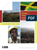 IBD, Power and Possibility, The Energy Sector in Jamaica, 2011