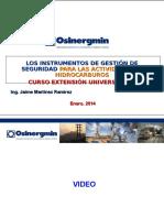Curso Extension Instrumentos Gestion Seguridad 2014 -Rev 1 1