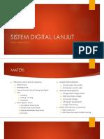 Sistem Digital Lanjut