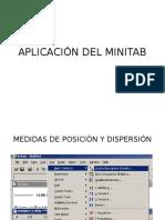 Diapositiva Minitab