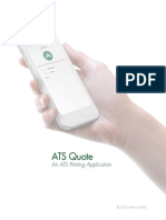 ATS Printing Mobile Application Guide
