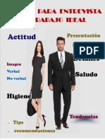 Manual de Planificación Para Entrevista de Trabajo Ideal