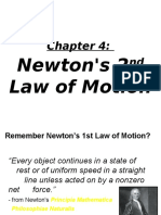 Newton's Second Law of Motion and Free Fall