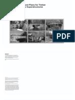 Standard Plans for Timber Bridge Superstructures