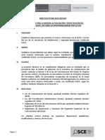 Directiva 008-2016-OSCE.cd Certificado SEACE