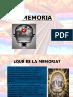 Memoria. Ppt