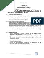 REPERCUSIÓN DE LA COMUNICACIÓN INTERNA EN LA CALIDAD DE SERVICIO DE LOS TRABAJADORES DE LA MUNICIPALIDAD PROVINCIAL DE AREQUIPA CON LOS POBLADORES, AÑO 2015