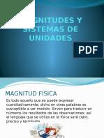 Magnitudes y Sistemas de Unidades