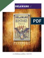 Delaware History Trail Passport