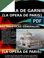 Analisis....Opera de Ganrnier