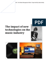 The impact of new technologies in the evolution of the music industry
