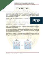 Informe 4 de Quimica II