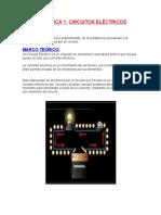 CIRCUITOS ELECTRICOS INFORME