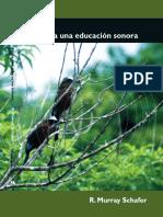 Hacia Una Educación Sonora - Murray Schafer